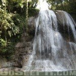 Gozalandia Lower Waterfall in San Sebastian PR 2