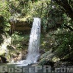 Gozalandia Upper Waterfall in San Sebastian PR 1