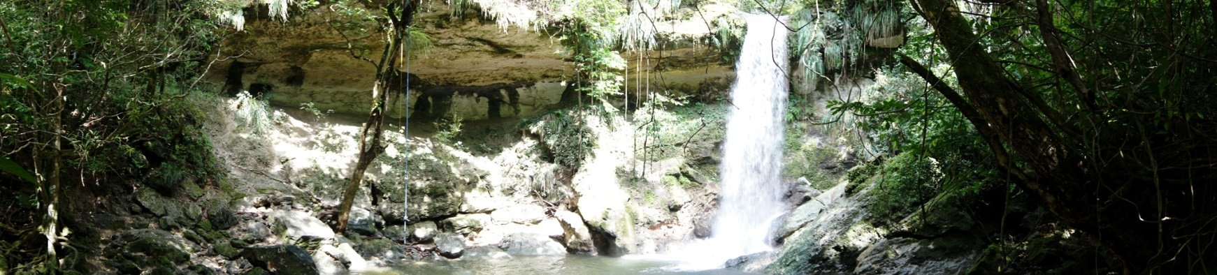Gozalandia Waterfall Panoramic I